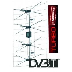 Antena siatkowa+wzmazniacz+zasilacz